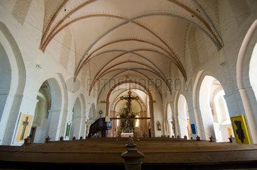 Altenkirchen  Deutschland  Innenaufnahme der evangelischen Pfarrkirche zu Altenkirchen