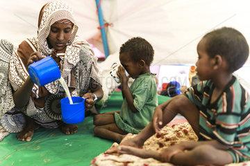 Lebensmittelspenden fuer Aethiopien