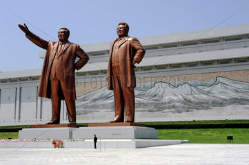Pjoengjang  Nordkorea  Grossmonument Mansudae