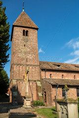 Weissenburg  Frankreich  Kirche Sankt Ulrich