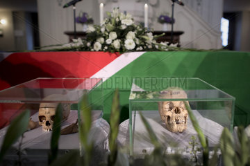 Return of stolen remains of Herero and Nama  Berlin