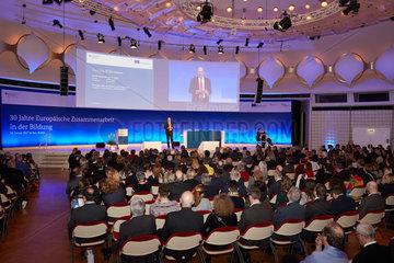Berlin  Deutschland  Festveranstaltung 30 Jahre Europaeische Zusammenarbeit in der Bildung
