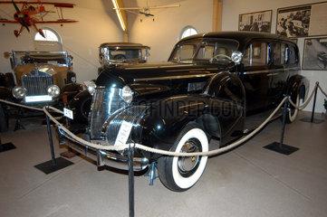 Sparreholm  Schweden  Automobilmuseum im Schloss Sparreholm