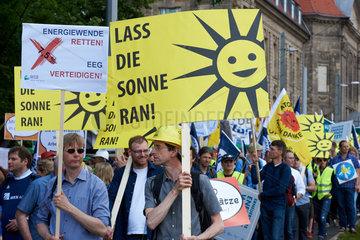 Berlin  Deutschland  Demonstration Energiewende retten