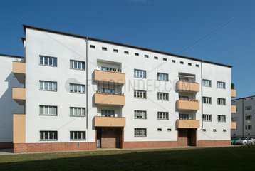 Magdeburg  Deutschland  die Angersiedlung in Magdeburg-Brueckfeld