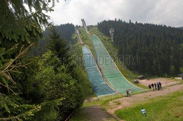 Oberhof  Deutschland  Schanzenanlagen im Kanzlersgrund