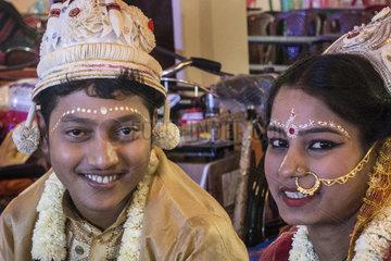 INDIA-KOLKATA-VALENTINE'S DAY-WEDDING