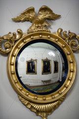 Dublin  Irland  Spiegel in der Portrait-Gallerie im Dublin Castle