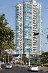 Odessa  Ukraine  Wohnhochhaus in der Naehe von Arcadia Beach