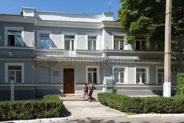 Tiraspol  Republik Moldau  Sitz der Presseabteilung des Aussenministeriums