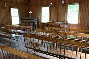 Mystic  USA  Freilichtmuseum Mystic Harbor