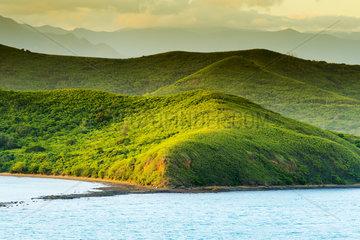 Noumea Sunset Landscape