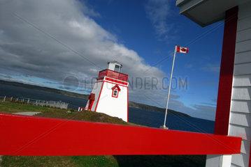St. Anthony  Kanada  Leuchtturm von St. Anthony