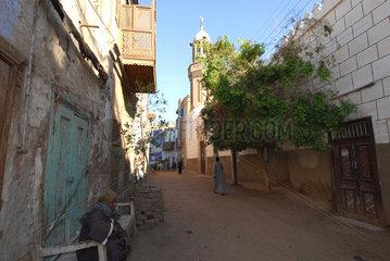 Esna  Aegypten  Stadtansicht