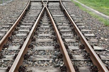Zossen  Deutschland  Bahngleise