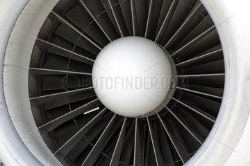 Schoenefeld  Deutschland  Flugzeugtriebwerk