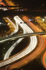 Berlin  Deutschland  Stadtautobahn