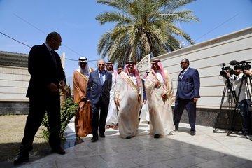 IRAQ-BAGHDAD-SAUDI ARABIA-CONSULATE OPENING