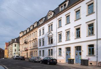 Dresden  Deutschland  Wohnhaeuser in der Kamenzer Strasse