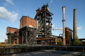 Duisburg  Deutschland  Hochofenanlage der ehemaligen Thyssen Eisenhuette Meiderich