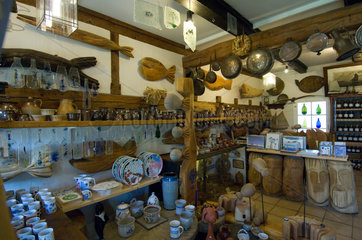 Middelhagen  Deutschland  die Toepferei Moenchgut Keramik
