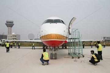 CHINA-ECONOMY-AVIC-COMAC-AIRCRAFT NOSES (CN)