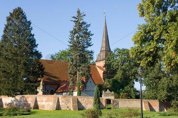 Mellenthin  Deutschland  Dorfkirche Mellenthin