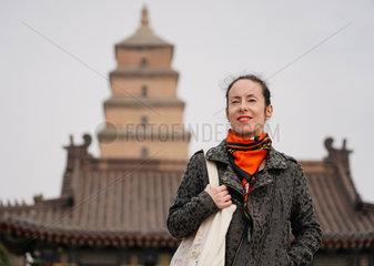CHINA-XI'AN-FOREIGNER-LIFE (CN)