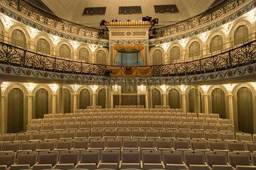 Putbus  Deutschland  Innenaufnahme des Theaters von Putbus