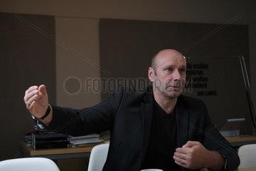 Berlin  Deutschland  Udo Wolf  Fraktionsvorsitzender der Partei Die Linke