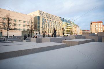 Berlin  Deutschland  Holocaust-Mahnmal Berlin