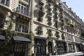 Paris  Ile-de-France  Frankreich - Das Hotel Bauchaumont in der Rue Bachaumont im 2. Arrondissement.