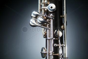 Das Mittelstueck einer Oboe
