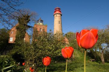 Putgarten  Deutschland  Leuchttuerme am Kap Arkona