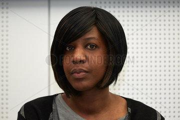 Berlin  Deutschland  Tiranke Diallo  Leiterin des Vereins Mama Afrika