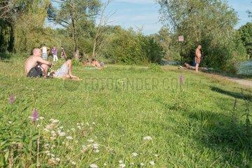 Ausflug Dutenhofener See  Lahnaue