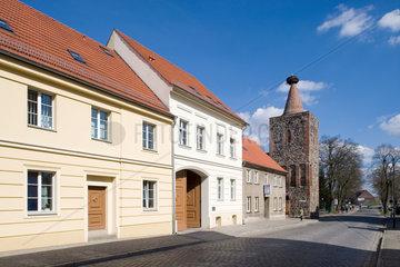 Altlandsberg  Deutschland  Straussberger Turm  auch Storchenturm genannt