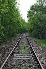 Zossen  Deutschland  Bahngleis