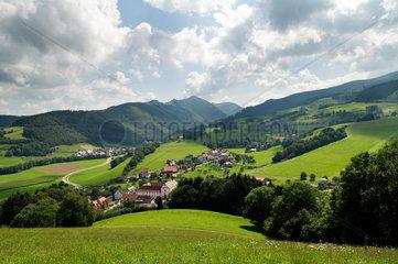 Oberried  Deutschland  Ausblick auf Oberried im Schwarzwald