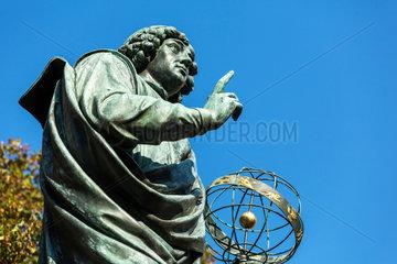 Thorn  Polen  Detailaufnahme des Kopernikus-Denkmal