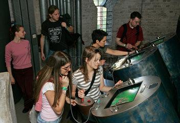 Muelheim an der Ruhr  Deutschland  Extraschicht im Aquarius Wassermuseum