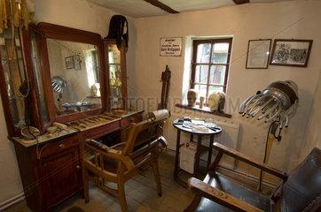 Gingst  Deutschland  die Frisoer-Stube im Handwerksmuseum Gingst