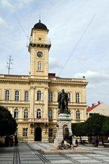 Die geteilte Stadt Komorn in der Slowakei