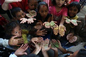NEPAL-KATHMANDU-GLOBAL HAND WASHING DAY