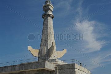 Nampo  Nordkorea  Leuchtturm Chinnampos