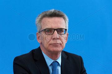 Berlin  Deutschland  Thomas de Maiziere  CDU  Bundesinnenminister