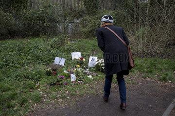 Gedenken  Tiergarten Berlin