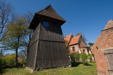 Altenkirchen  Deutschland  Glockenturm der evangelischen Pfarrkirche zu Altenkirchen