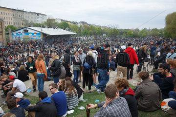 Berlin  Deutschland  MyFest in Kreuzberg
