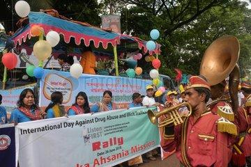 BANGLADESH-DHAKA-INTERNATIONAL DAY AGAINST DRUG ABUSE AND ILLICIT TRAFFICKING